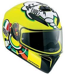 AGV K3 Sv Misano 2001 Valentino Rossi kask motocyklowy, żółty 0301A0EY006XS