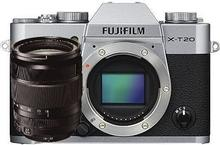 Fuji X-T20 + 18-135 srebrny