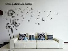 Naklej-to.pl Dmuchawce 3 Naklejka na scianę dmuchawce03