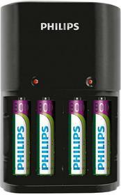 Philips Ładowarka akumulatorów AA AAA + 4 x AA 2100mAh