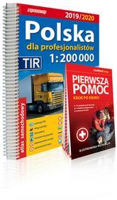 Polska dla profesjonalistów 1:200 000. Atlas samochodowy 2019/2020