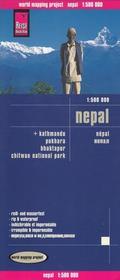 Reise Know How Nepal, 1:500 000