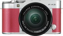 Fuji X-A3 + 16-50 kit różowy