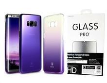 Baseus Etui Glaze Samsung Galaxy S8 Plus Blue + Szkło 9H