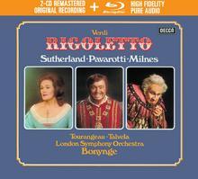 Verdi Rigoletto CD + Blu-ray Audio) Luciano Pavarotti