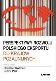 Perspektywy rozwoju polskiego eksportu do krajów pozaunijnych