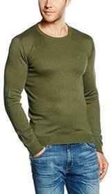 Wrangler Sweter Crew Knit dla mężczyzn, kolor: zielony, rozmiar: XXL (UK) B06XBT86JZ