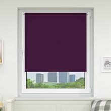 Victoria-M Roleta materiałowa bezinwazyjna, Przyciemniająca, Gotowa, BASIC, liliowa, 80x150 cm