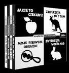 Wilga / GW Foksal Pakiet Książeczki kontrastowe - Opracowanie zbiorowe