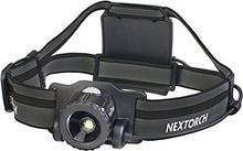NEXTORCH mystar fokussierbare LED lampka na głowę 550lumenów w zestawie akumulator, czarny myStar Black