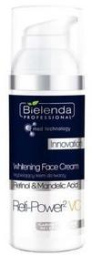 Bielenda Professional Wybielający krem do twarzy - Professional Reti-Power2 VC Whitening Face Cream Wybielający krem do twarzy - Professional Reti-Power2 VC Whitening Face Cream