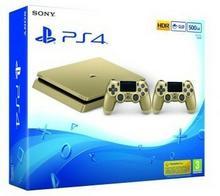 Sony PlayStation 4 Slim 500GB Złoty + Kontroler Dualshock