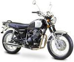 Romet Motocykl CLASSIC400 biało/zielony EURO4 /2016/ Typ;XY400-2 S16-400-R-M-CL400-04