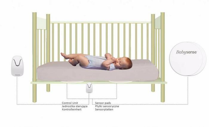 BabySense Monitor oddechu 7