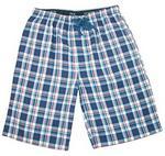 Hanes hanes Mężczyźni pidżama spodnie. w kratkę One Size -  s P-2002-BLU408-S