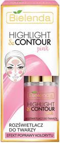 BIELENDA Bielenda Highlight&Contour Rozświetlacz do twarzy Pink BIEL-4642
