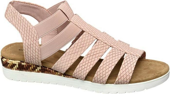 2331f297b6c6a Graceland sandały damskie różowe - Ceny i opinie na Skapiec.pl