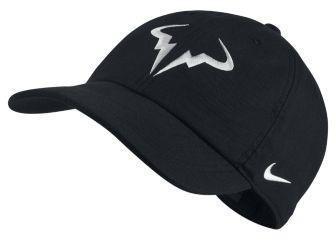 047f02b19ec65 Nike Regulowana czapka tenisowa NikeCourt AeroBill H86 Rafael Nadal - Czerń  850666-010
