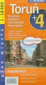 Demart Toruń - plan miasta (skala 1:18 000) - Demart