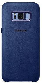 Etuo.pl Samsung Original - Samsung Galaxy S8 Plus - etui na telefon Samsung Alcantara Cover - niebieski ETSM490SALCBLU000