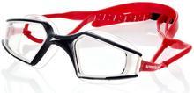 Speedo Okulary do pływania, Aquapulse Max, czerwone, rozmiar uniwersalny