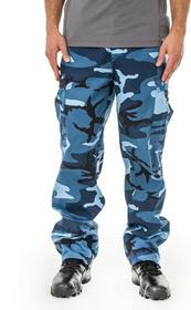 Mil-Tec Spodnie wojskowe męskie bojówki US Ranger BDU Sky Blue roz XXL 11810023) 11810023