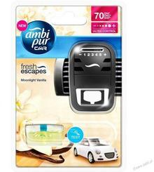 Ambi Pur Zapach samochodowy Moonlight Vanilla 7ml Urządzenie + Wkład