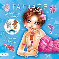 Tatuaże. Kolorowe ozdóbki - Papilon