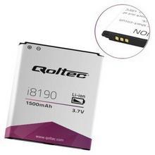 Qoltec Bateria do smartfona Samsung Galaxy SIII I8190, 1500mAh | 3pin 52049.I8190