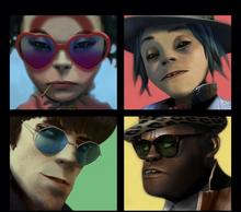 Gorillaz Humanz Deluxe Limited Edition)