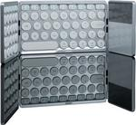 HDWR Kompaktowa, elegancka, podwójnie składana klawiatura Bluetooth z touchpadem typerCLAW BS120 typerCLAW-BS120