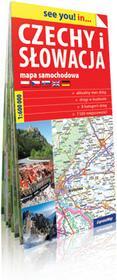 ExpressMap praca zbiorowa see you! in Czechy i Słowacja. Papierowa mapa samochodowa 1:600 000