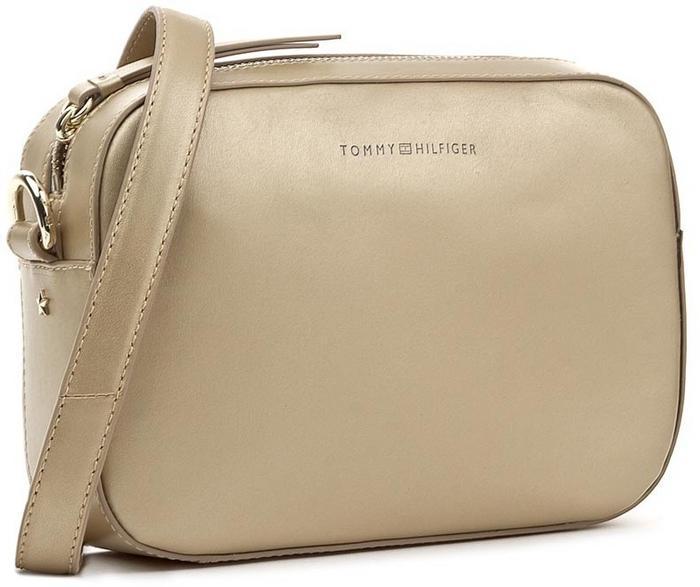 3577396cc85fb Tommy Hilfiger Torebka Iconic Camera Bag Gold AW0AW05002 902 – ceny ...