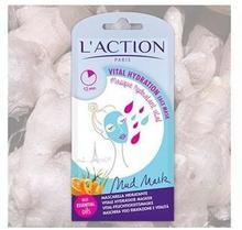 L'ACTION Vital Hydration Face Mask nawilżająca maseczka błotna 6g 37238-uniw