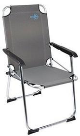 Składane krzesło turystyczne, czarne