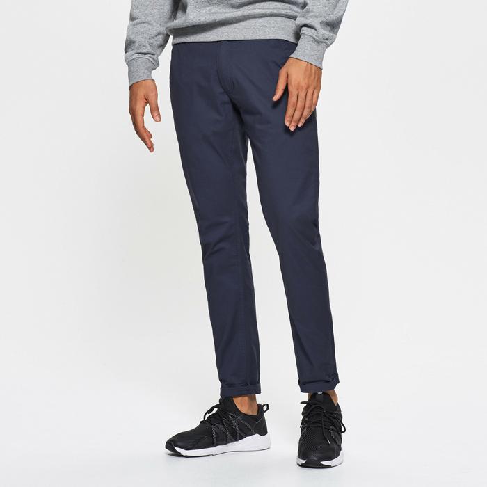395705c5ce6f1e Cropp Techniczne Typu – Dane Spodnie Granatowy Materiałowe Ceny 0Uvrqn0