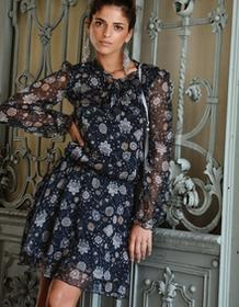 Ju Lovi Sukienka jedwabna Milano floral