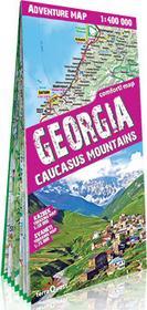 ExpressMap Georgia, Caucasus Mountains. Mapa samochodowo-turystyczna 1:400 000 praca zbiorowa