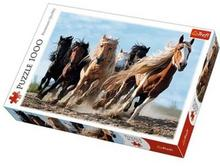 Trefl Puzzle 1000 elementów Galopujące konie 10446