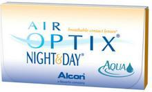 Air Optix Soczewki miesięczne Night&Day, Aqua, 3szt.