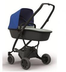 Quinny Wózek głęboko-spacerowy 2w1 Zapp Flex Plus niebiesko/grafitowy