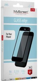 MYSCREEN Protector Protector L!TE Glass Edge Huawei P10 Lite czarny 1595240000
