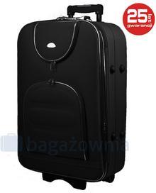 PELLUCCI Duża walizka PELLUCCI 801 L - Czarny - czarny