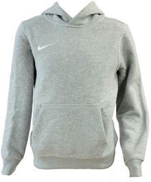 Nike BLUZA TEAM CLUB HOODY JR szara 658500 050
