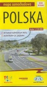 Bik Polska mapa samochodowa - BiK