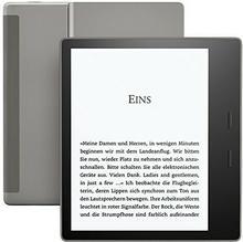 Amazon Czytnik Kindle Oasis, wodoodporny, wyposażony w 7-calowy ekran o wysokiej rozdzielczości 300 ppi, z dostępem do serwisu Audible (może nie być dostępny w języku polskim) 53-006393
