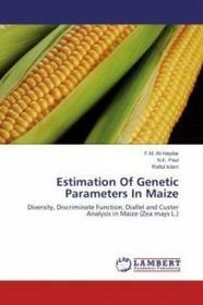 LAP Lambert Academic Publishing Estimation of Genetic Parameters in Maize
