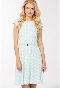 Monnari Pastelowa sukienka w groszki