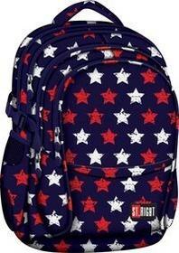 St.Right Plecak Szkolny BP-01 Stars 617539 PROMOCJA