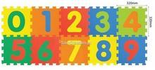 Smily PLAY MATA PIANKOWA - PUZZLE CYFRY 1001B3 34166